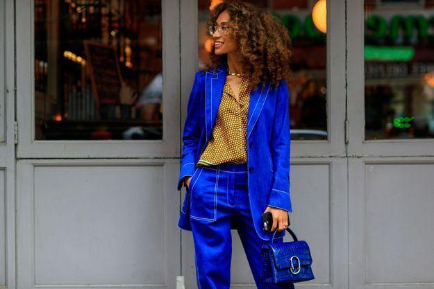 Un costume façon bleu de travail
