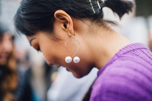 Des boucles à perles