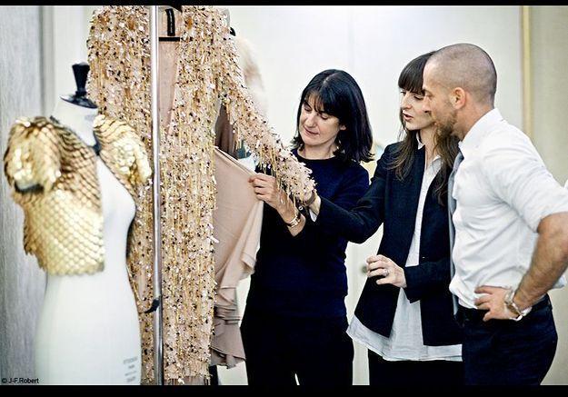 Mode reportage coulisses haute couture defile alexandre vauthier acheteuse