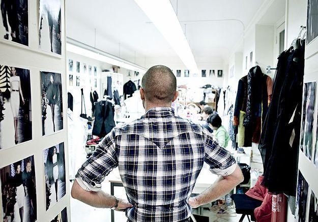 Mode reportage coulisses haute couture defile alexandre vauthier calme