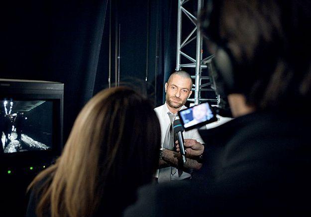 Mode reportage coulisses haute couture defile alexandre vauthier interview