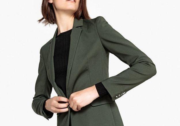 Un blazer vert