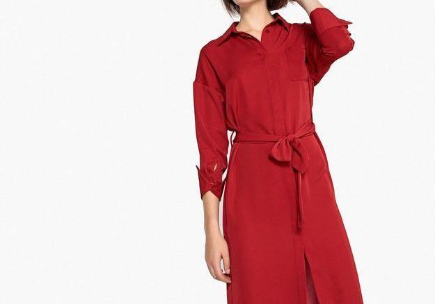Une robe chemise