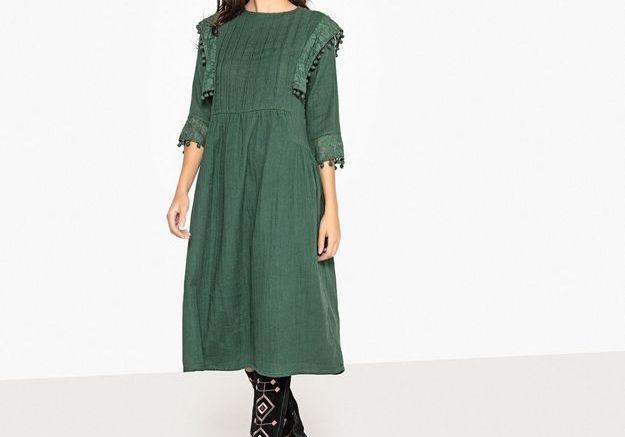 Une robe folk