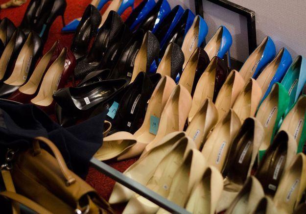Les chaussures des mannequins