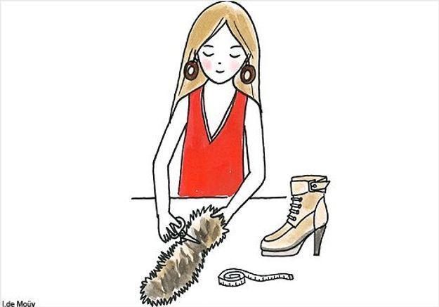 Do it yourself : les boots à fourrure