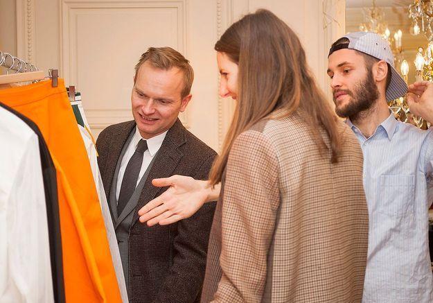 ELLE aime la mode - jeune talents au Crillon Lalun Jacquemus