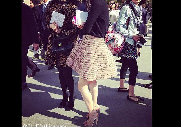 Défilé Dior : superbe jupe