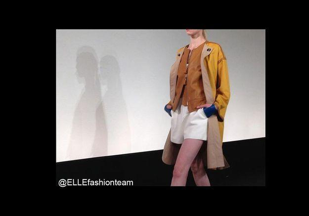 Défilé Hermès : mitaines