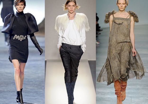 Mode tendance look defiles paris Epaulettes surprenantes