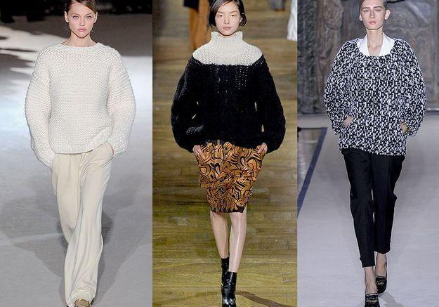 Mode tendance look defiles paris La grosse maille