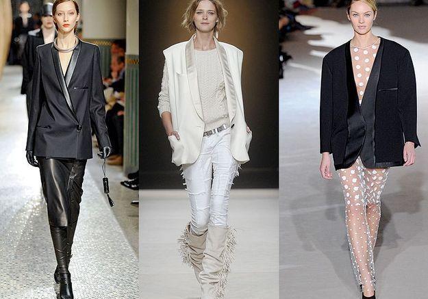 Mode tendance look defiles paris Le neo smoking