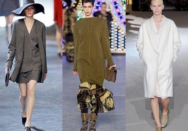 Mode tendance look defiles paris marchez a plat