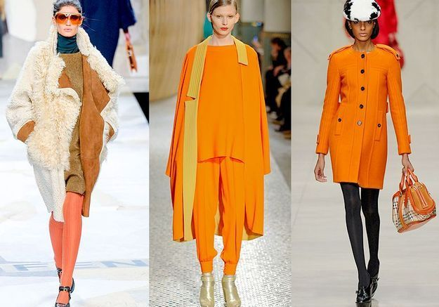 Mode tendance look defiles paris Orange