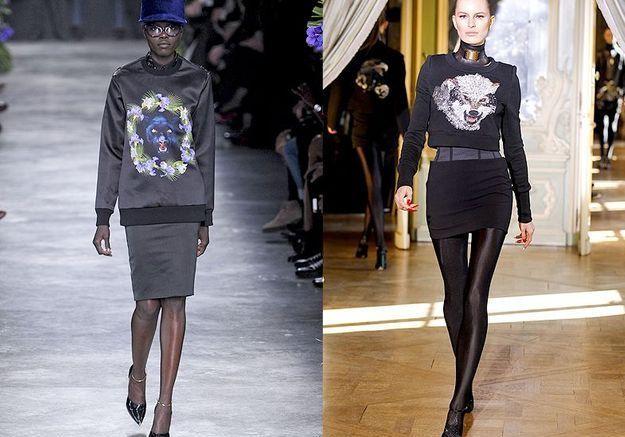 Mode tendance look defiles paris Sweat teen
