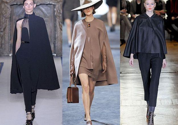 Mode tendance look defiles paris Toujours capes
