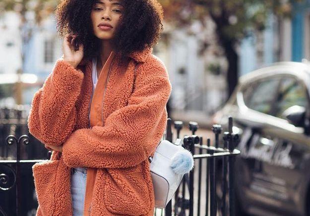 Le manteau doudou de Lesley
