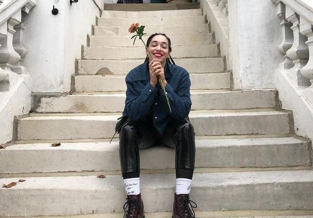 Les boots rock de Hannah