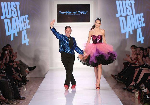 Michael Kuluva pour l'événement mode présenté par Ubisof