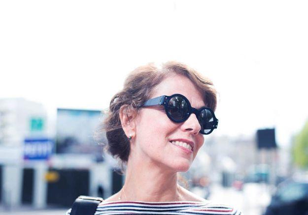 Caroline de Fayet, rédactrice en chef adjointe de la mode ELLE.