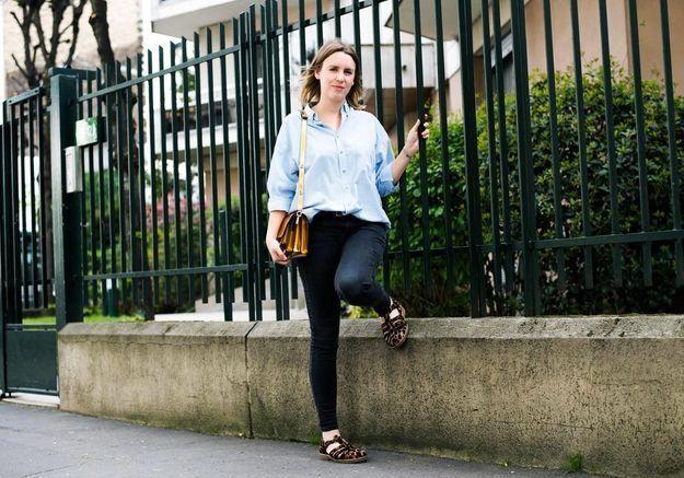 Marie Cattiaux, assistante styliste mode ELLE.