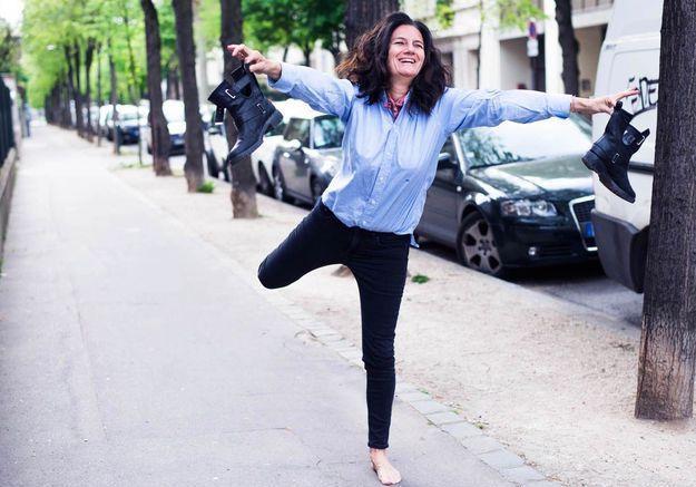 Sophie Fontanel, directrice de la mode ELLE.