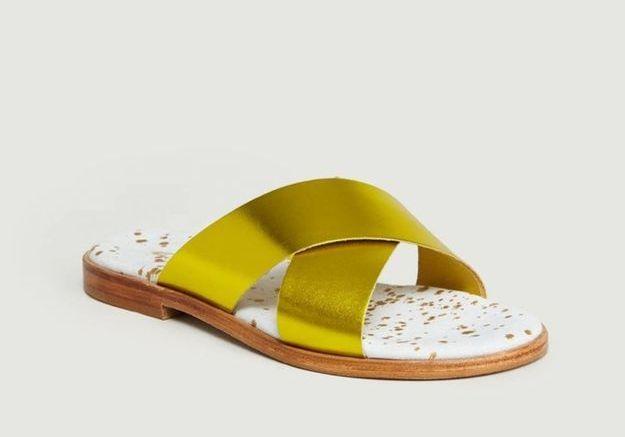 Sandales Craie