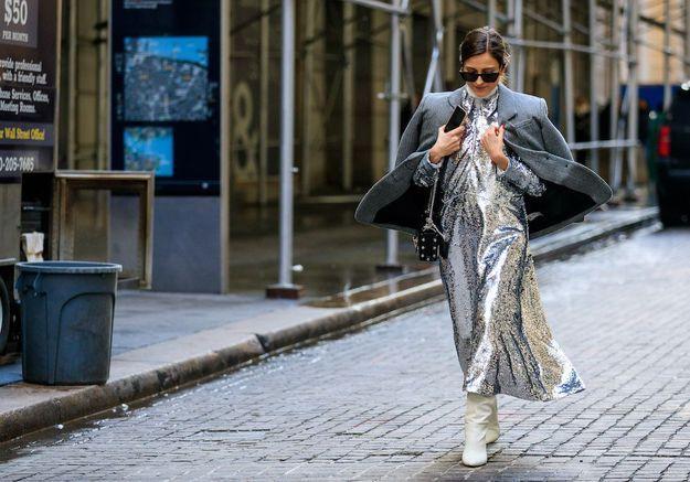 Mode printemps 2021 : glitter et sequins illuminent notre garde-robe