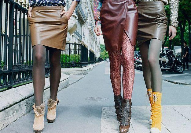 Mode tendances look accessoires chaussures p248 249