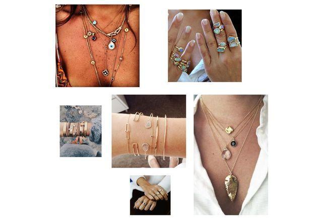 Le stacking : cette façon de porter ses bijoux fait le buzz sur Pinterest