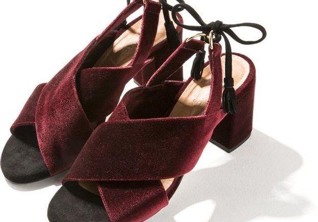 Chaussures en velours Balzac Paris