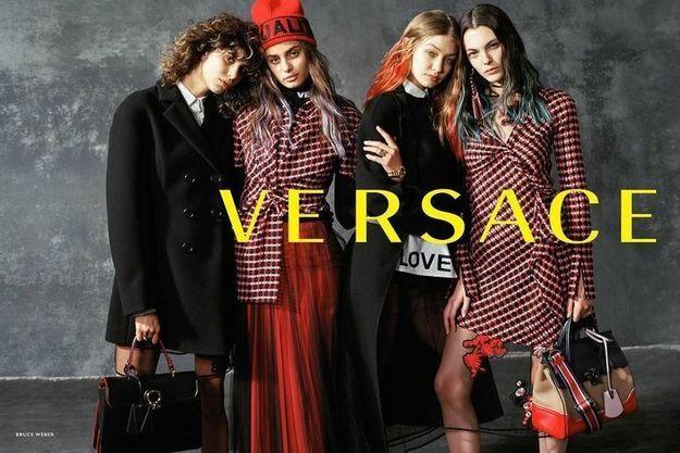 Versace automne-hiver 2017-2018