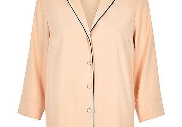 Chemise rose River Island