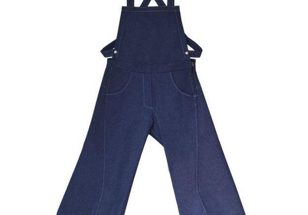 Salopette en jeans dos nu PENY W Y L D E