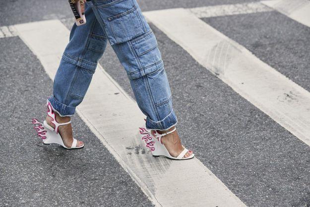 Le jean à poches