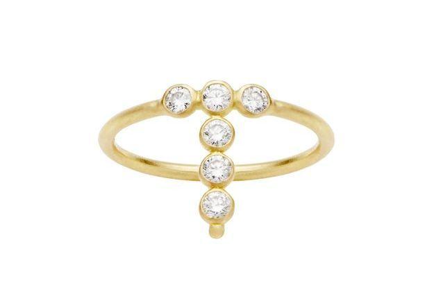 Bague diamant et or Aimée.Aimer