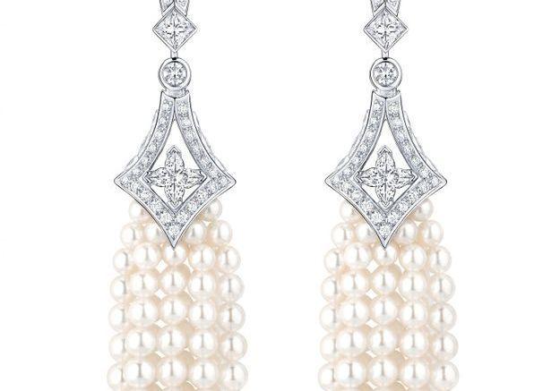 Bijou perles Akoya Louis Vuitton