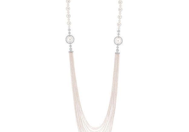 Bijou perles Chanel