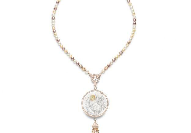Bijou perles de culture Boucheron