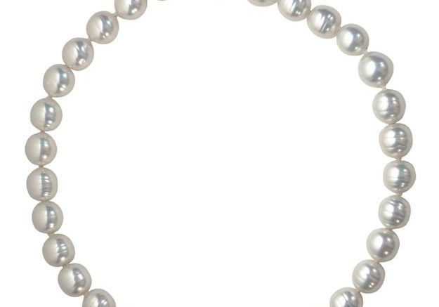 Bijou perles en verre Agatha