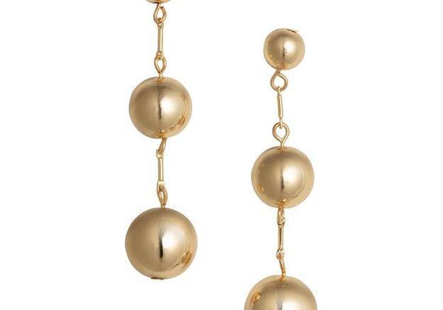 Bijou perles gold H&M
