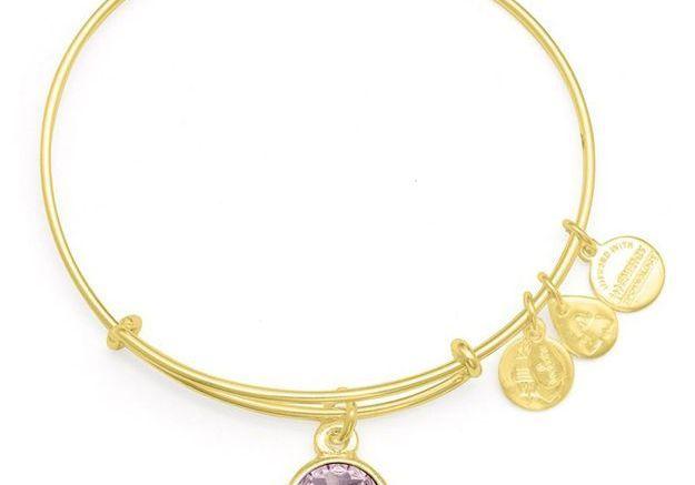 Bracelet à charms et pierre de naissance