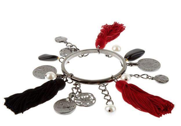 Bracelet à charms Oscar de la Renta