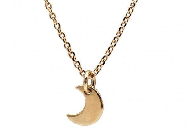 Collier lune Delphine Pariente