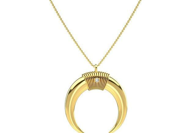 Collier Lune Maria Pascual