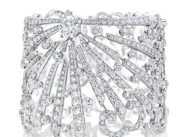 Manchette en diamant De Beers