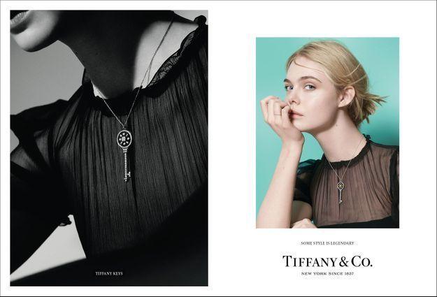 Elle Fanning pour Tiffany & Co