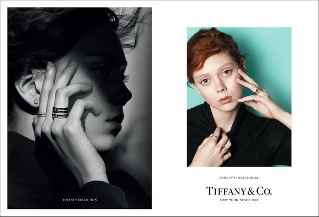 Natalie Westling pour Tiffany & Co