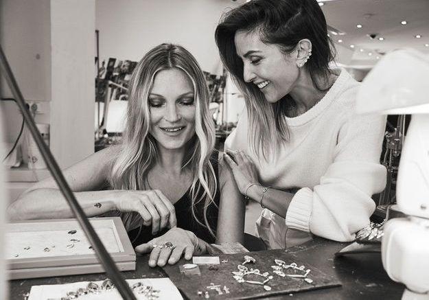 Kate Moss nous raconte les dessous de sa collection de bijoux avec Messika