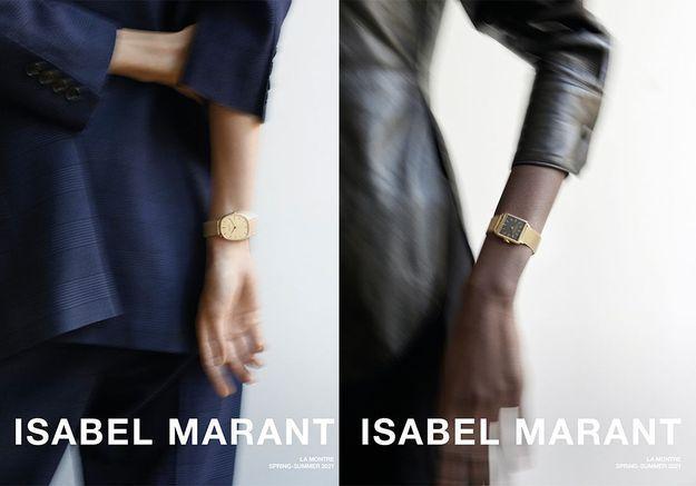 L'instant mode : Isabel Marant dévoile ses premières montres